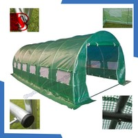 PLASTIC GARDENING GREENHOUSE with waterproof, snowproof, china pe tarpaulin factory