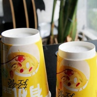 Double wall disposable paper coffee cups, Paper cups with lid