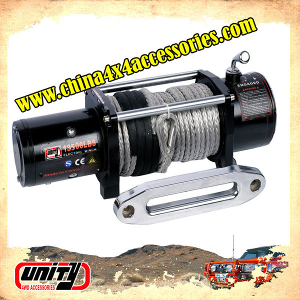 4X4 accessories 12000lb CE approved Car Electric Winch with wireless remote control