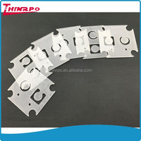 Custom made super thin silicone gasket transparent rubber pad