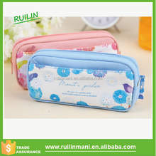 New flower design pencil case for school