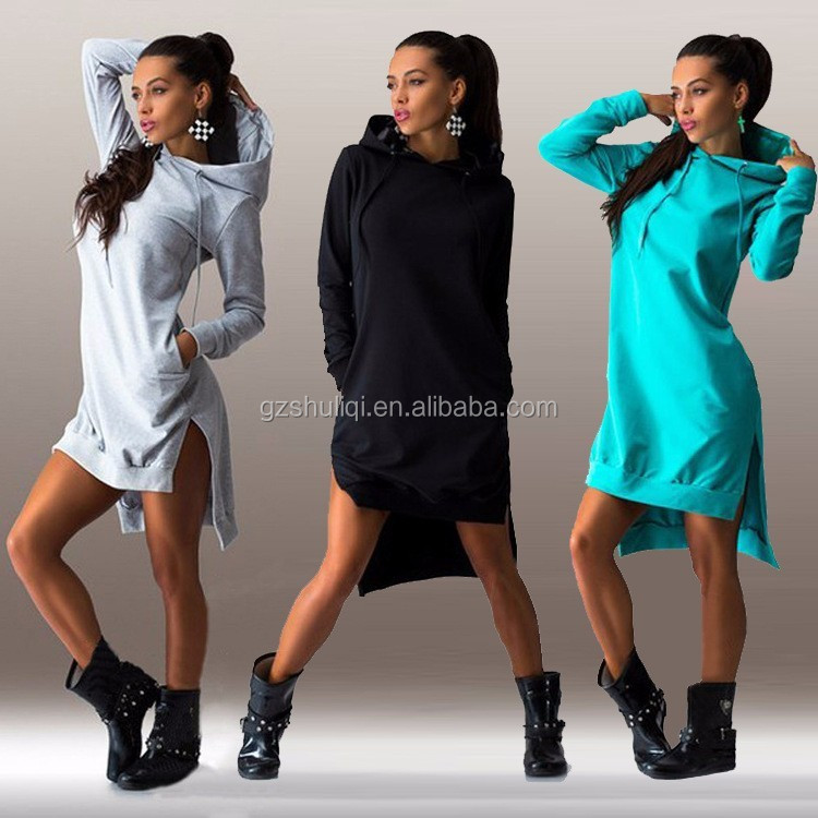 Shuliqi blank high quality oversized hoodie women tall jersey sweat pullover hoodies