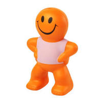 Pu captain smiley free stress ball