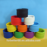 Colorful Silicone Snap Bands, Cheapest Price Slap Bands,Customized Slap Bands