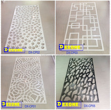 CNC aluminum carved panel for facade | fence | screen | window