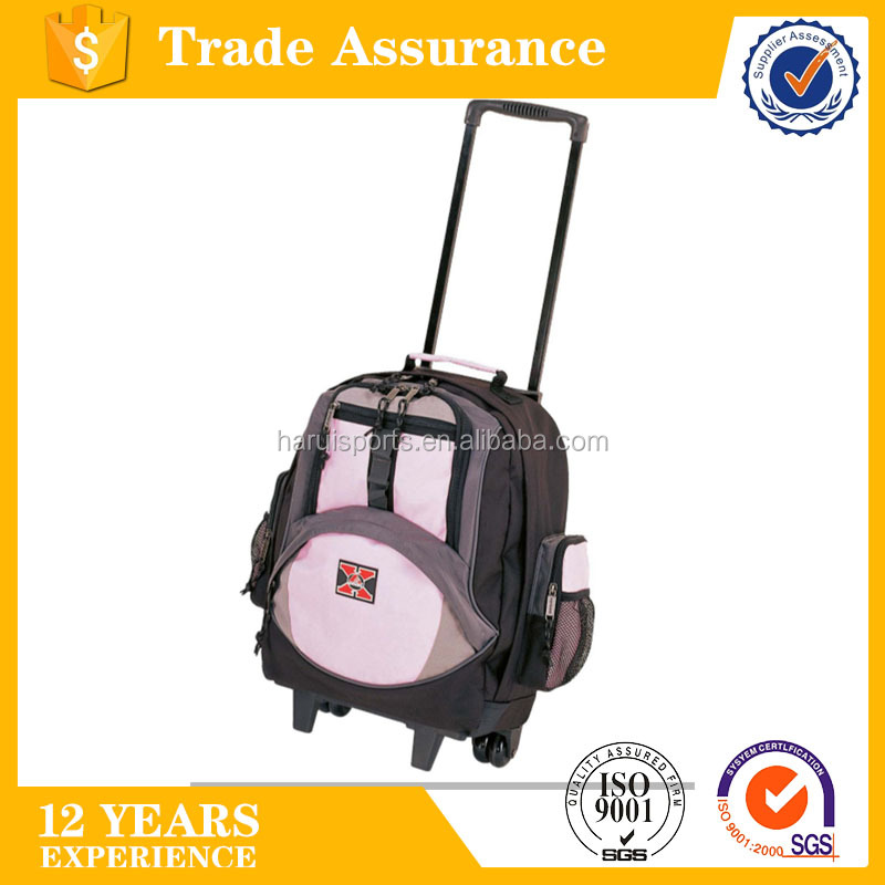 Fancy Designer Stylish Kids School Bag with Wheels