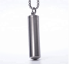 Custom Titanium steel material Vial necklace wholesale cheap price for fashion people