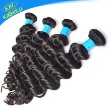 Unprocessed Brazilian black natural hair ponytail