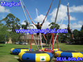 Inflatable bungee jumper inflatable bungee jumping Inflatable bungee trampoline
