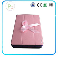 2014 Hot Sale 5 Shapes Stand Design Magnetic Leather Case for ipad 4 3 2 Smart Cover Utrathin