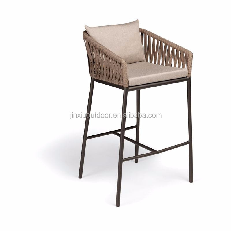 Rope Weaving Outdoor Arm Chair Bs T018 Bitta Dining Chair