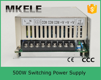 S-500-12 ac input 220v smps 12v 40a switching power supply 500w s 500 12v dc 500w led power supply 12v 40a dc switch psu