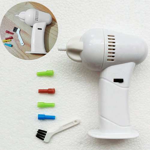 Fashion Electric Safety Cordless Vacuum Ear Cleaner Easy Wax Removal