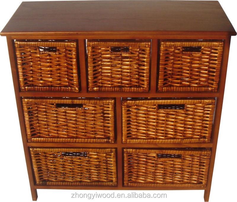Outdoor wooden furniture storage cabinet on sale