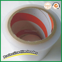 Self adhesive PE plastic film surface protection