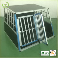 Outdoor Cheap aluminum dog cage/for sale dog cage