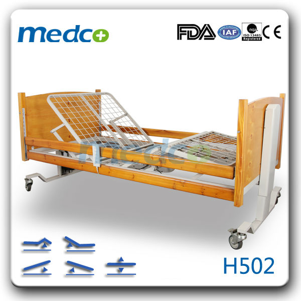 Luxurious Electric Home care bed with 3 functions H502