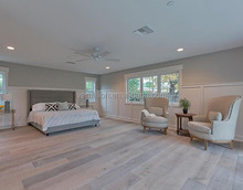 Wide Plank White Washed Frech Oak Engineered Distressed Wood Flooring