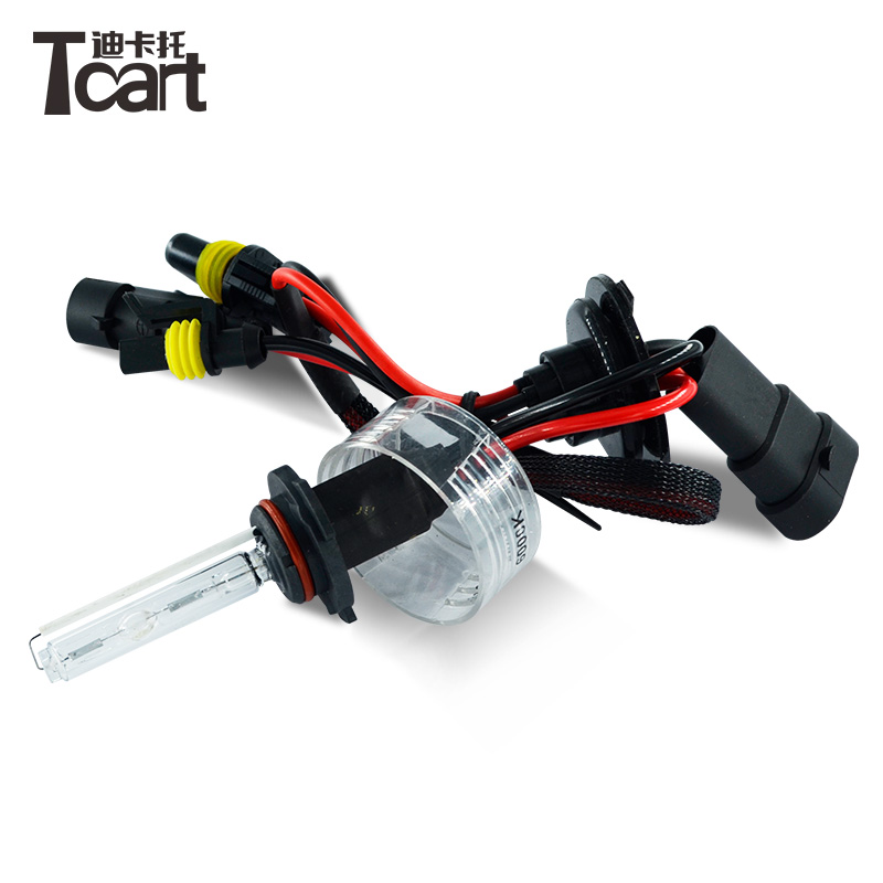 Tcart Universal DC 12V <strong>5000K</strong> 6000K 8000K Car Headlights Lamp Xenon H7 9145 <strong>H10</strong> 55W HID Bulb