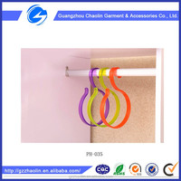 Good quality produce hanger plastic hooks useable hanging hook for hanging sundries