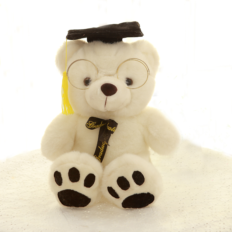 Customized Plush Stuffed Graduation Gift Doctor Bear Animal Toy