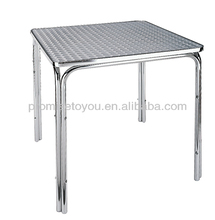 made in China cast aluminum patio furniture restaurant tables