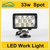 4x4 accessories light 33w led tractor work light super bright