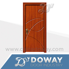 HIGH QUALITY LOW PRICE MORE NEW DESIGNs INTERIOR WOODEN /MDF (glass) PVC DOOR membrane doors
