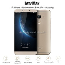 "2016!!Original Letv MAX X900/letv le max fingerprint ID 4G LTE 6.33"" smart phone 4GB RAM 32g/ 64GB ROM 21.0MP Camera cell phone"