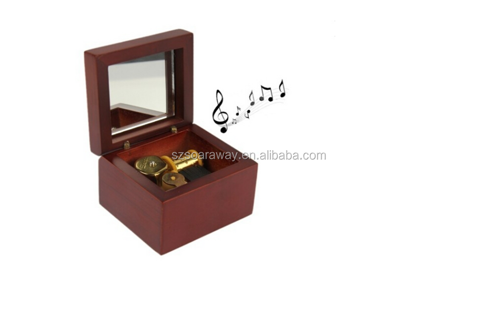 Creative Best seller wooden wholesale music boxes, Music box best gift