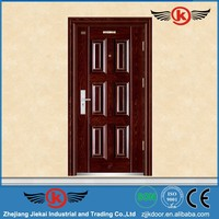 JieKai S9236 metal door jambs / steel security doors for home / house front door design photos