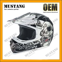 DOT Motorcross Full Face Helmet Plastic Helmet Motorcycle Off Road Helmet