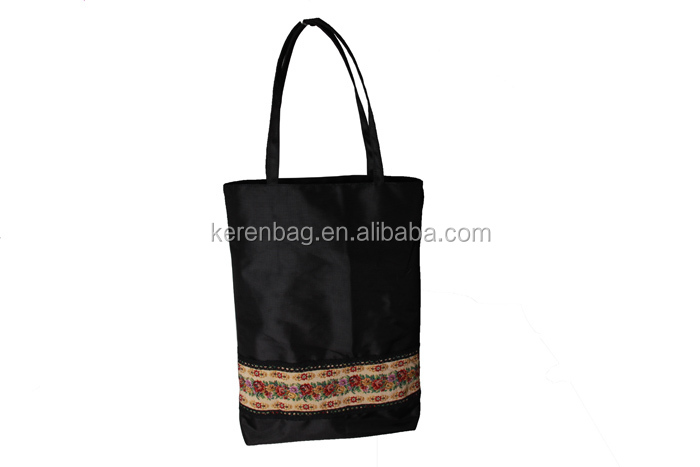 Alibaba Professional Bag Factory Fashion 1680D Oxford Fabric Shopping Bags