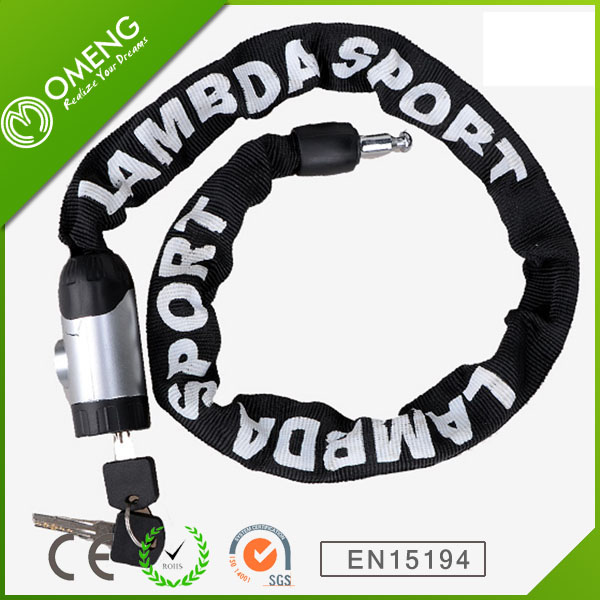 Sale Rushed Black Steel Inbike 80cm Bicycle Lock Chain Mountain Bike Electric Motorcycle Anti-theft