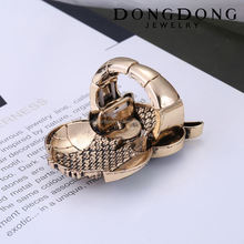 DongDong DD-R-031 factory custom fashion cute owl shape design vintage ring for women