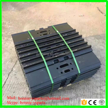excavator track shoe for PC60-5 track pad excavator steel track pads