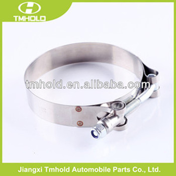T bolt hose clamp, stainless steel hose clamp, hose clip for tube pipe