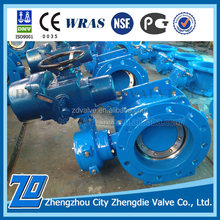 China manufacturer Dn100 pn10 fip butterfly valve