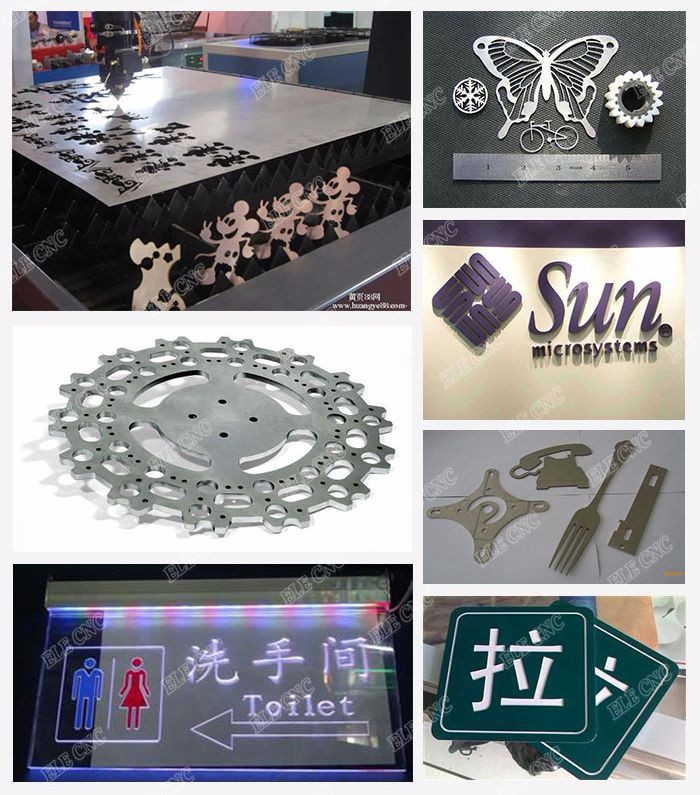 High efficiency and speed fiber laser cutting machine , laser cutter , 3d laser engraving machine for metal