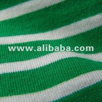Organic Striped Jersey Fabric