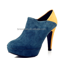Wholesale women fashion medium heel boots(style no. WB1094)