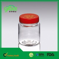 Rounded square shape and varied of shape more style more environmental plastic packaging cixi plastic bottle 200ml