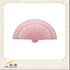 Customized promotional advertising bamboo wood hand fan