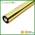 0.64*120m Gold aluminum foil metallic Hot Stamping Standard Foil for paper leather plastic