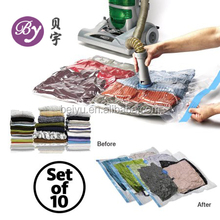 PE Plastic Type and Clothing Use vacuum seal bags