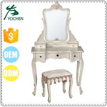 antique vanity cheap beauty makeup wood dresser with mirror, antique dressing table