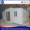 Easy Assembly earthquake proof design prefab folding container homes on sale