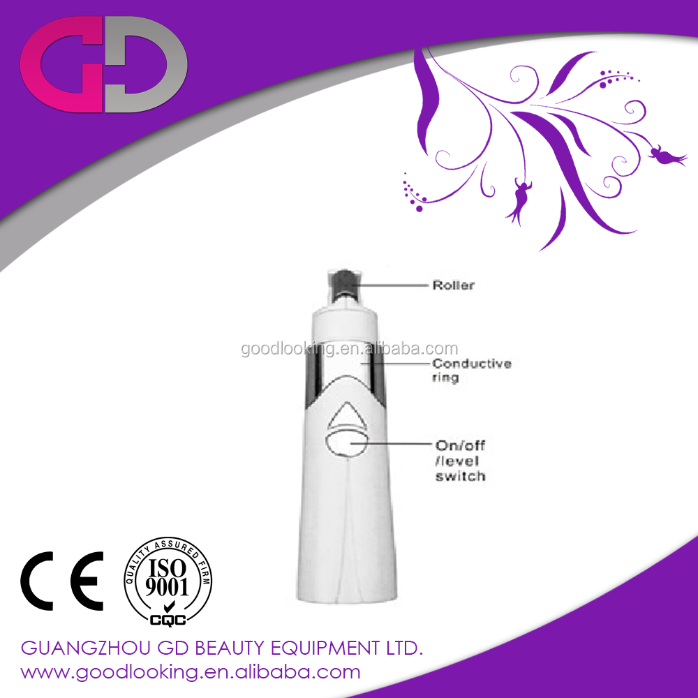 handheld galvanic skin care beauty machine device