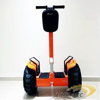 Self-balancing two wheeler stand up adult electric scooter
