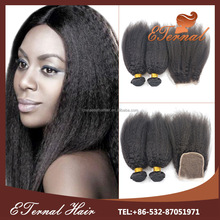 Best product 2015 kinky straight african american human hair extensions on sale